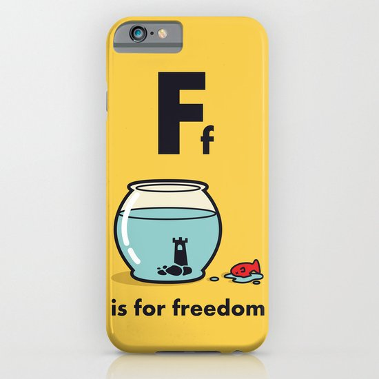 F is for freedom - the irony iPhone & iPod Case