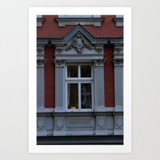 Berlin window Art Print