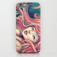 iPhone & iPod Case featuring Technicolor Mermaid by parochena