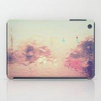 rainy reflections iPad Case