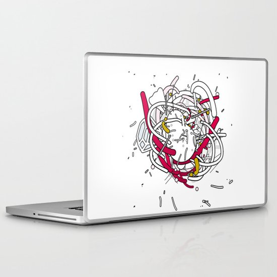 Anatomy Party Laptop & iPad Skin