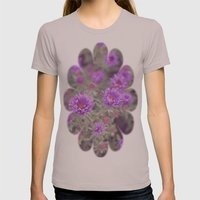 Violet Womens Fitted Tee Cinder SMALL