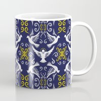 Doves Patterns Mug