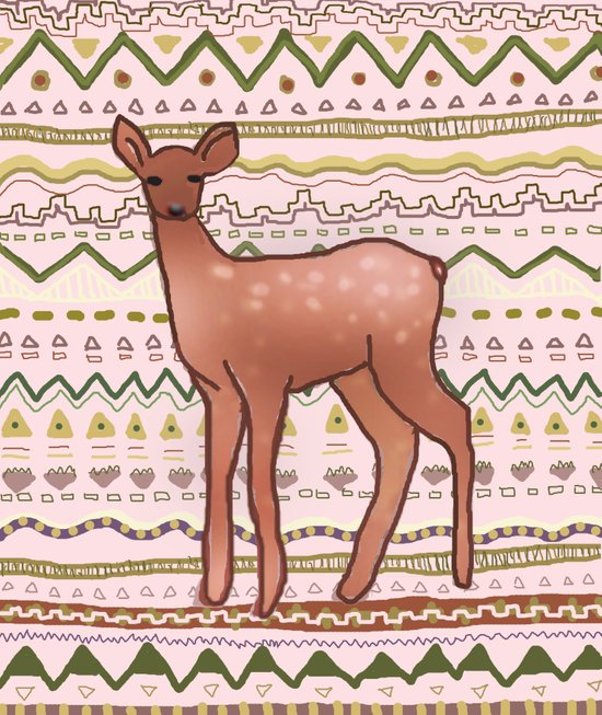 I Deer You to Dream Art Print