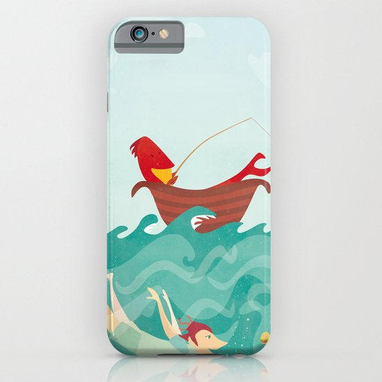 Seafood is Overrated iPhone & iPod Case