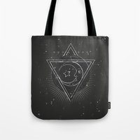 Mysterious moon Tote Bag