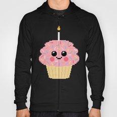 Happy Pixel Cupcake Hoody