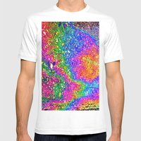 Oily rainbow Mens Fitted Tee White SMALL
