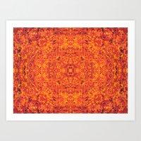 Satan's Carpet Art Print