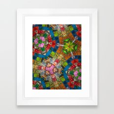 The Glass Path Framed Art Print