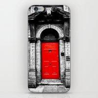 The Red Door iPhone & iPod Skin