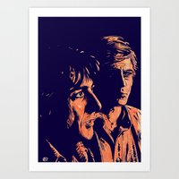 All The President's Men Art Print