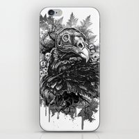 Vulture and Pine iPhone & iPod Skin