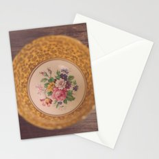 Gold Teacup Stationery Cards