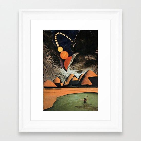 contos da toca... Framed Art Print