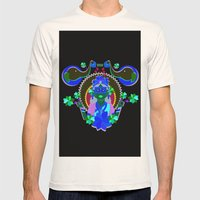 Goddess Lakshmi from India Mens Fitted Tee Natural SMALL