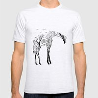 Camelopardalis Mens Fitted Tee Ash Grey SMALL
