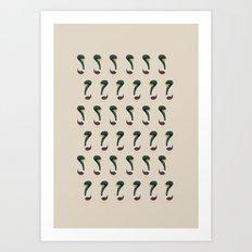 Squag - Pattern Art Print