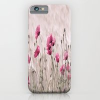 iPhone & iPod Case featuring Poppy Pastell Pink by Tanja Riedel