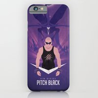 iPhone & iPod Case featuring Pitch Black - Badass Riddick by BarbarianFactory