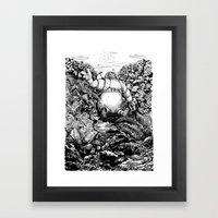 A long time ago... Framed Art Print