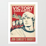 Join Camelot's Knights -… Art Print