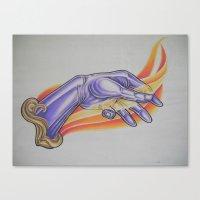 Fire Starter Canvas Print