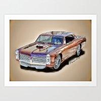 Pontiac GTO Art Print