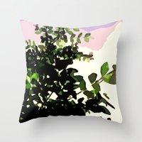 Naturmotiv. Throw Pillow