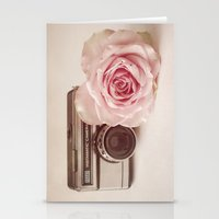 Rose & The Camera  Stationery Cards