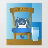 Jackson : The Chairman 2 Canvas Print