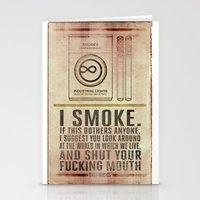 Smoking Bill Hicks… Stationery Cards