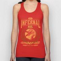 Infernal Nail Amber Ale | FFXIV Unisex Tank Top