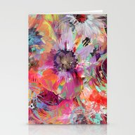 Stationery Cards featuring Flower Carpet(40). by Mary Berg