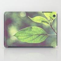 green iPad Case