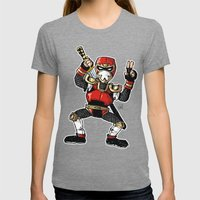 A Incredible Ninja Womens Fitted Tee Tri-Grey SMALL
