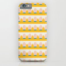 Pink + Gold Mountains iPhone 6s Slim Case