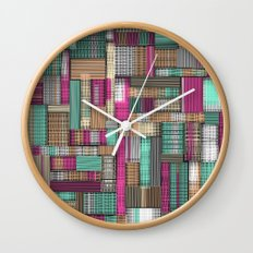 City Lines Wall Clock