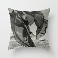 The Cloud Releaser Throw Pillow