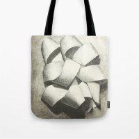 Ribbon - Graphite Illust… Tote Bag