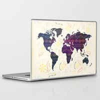 map Laptop & iPad Skins featuring Map by famenxt