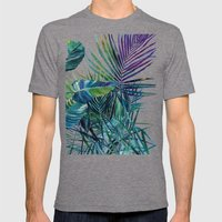 The jungle vol 2 Mens Fitted Tee Tri-Grey SMALL