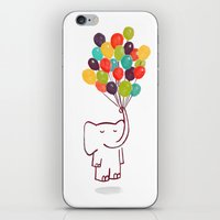 Flying Elephant iPhone & iPod Skin