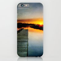 iPhone & iPod Case featuring Sunset Pier by JMcCool