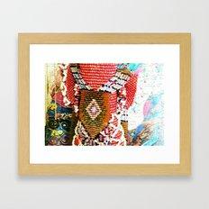 Nane Ace Framed Art Print