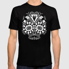 skull1 Mens Fitted Tee Black SMALL