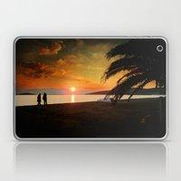 Sunset over Mytilene Laptop & iPad Skin