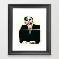 Mr.Morning Framed Art Print