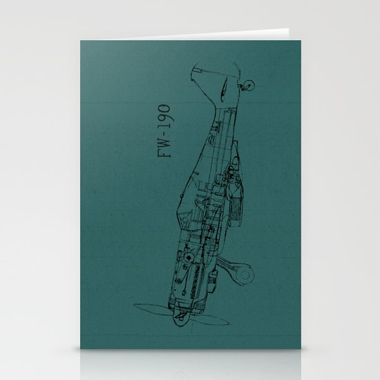 FW - 190 (Colour) Stationery Card