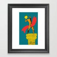Fruit Is The Champion Framed Art Print